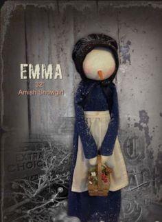 Emma - Amish Snowgirl PATTERN - SNS
