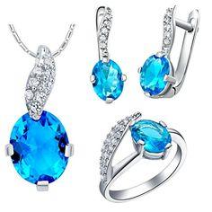 Virgin Shine Platinum Plated Rhinestone Tadpoles Jewelry Sets Blue VIRGIN SHINE http://www.amazon.com/dp/B00L14ACVG/ref=cm_sw_r_pi_dp_DVptub0MVWWVA