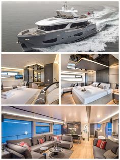 Beautiful view of the luxury yacht. Luxury Yacht Interior, Private Jet Interior, Boat Interior, Luxury Cars, Luxury Vehicle, Luxury Vinyl, Luxury Life, Luxury Living, Luxury Homes