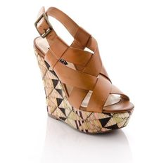 How about these wedges?  Perfect with shorts, jeans or skirt! Fun!