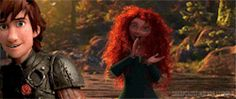 In which Merida is so proud of Viking Leader Hiccup as he gives a speech