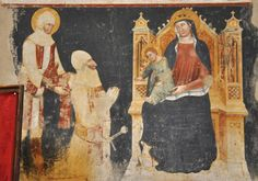 Madonna with Child and St. George and a Knight Santa Anastasia, Madonna And Child, Knight, Children, Painting, Beautiful, Art, Toddlers, Craft Art