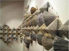 Withdrawn from Circulation by Wendy Kawabata. Installation at Corban Estate Art Centre, 2010