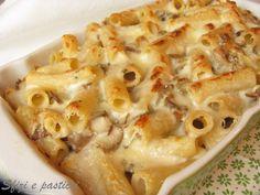 La pasta al forno è il classico piatto della domenica! Un classico che soddisfa anche i palati più esigenti!!     Ingr.   350 gr: di tortig...