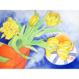 Yellow Reaching Limited Edition Print - Sara Steele