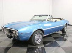 1967 Pontiac Firebird VERY RARE OVERHEAD CAM 6 CYLINDER W/ 4 SPD! LARGELY ORIGINAL & VERY CLEAN! COOL!