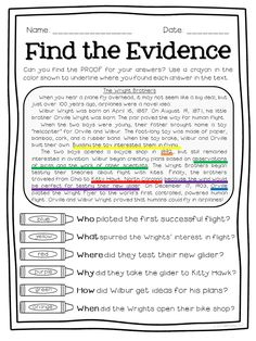 FREE sampler of Super Text Detectives: Find the Text Evidence! I love these for introducing my kids to close reading- and my kids have tons of fun coloring their answers!