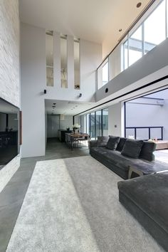 Unique Modern Living Room Ideas for Your Home - Pandriva Minimalist House Design, Minimalist Home, Interior Design Living Room, Living Room Designs, Living Rooms, Create Your House, Shaker Style Kitchens, Beautiful Interiors, Interior And Exterior