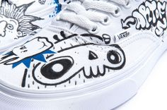 Vans Limited Edition Classic&AWLAB http://tinyurl.com/lpozpyo   #vans #ClassicAndAWLAB #artofsool #sneakers #limitededition
