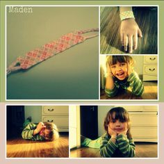 Little bracelet for little sister <3