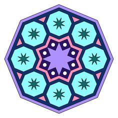 Mandala Mycoloring Painteditmyself App Momi Art Coloringbook Coloring Masterpieces