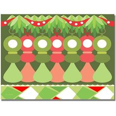 Trademark Art Babys First Christmas Canvas Wall Art by Grace Riely, Size: 35 x 47, Multicolor