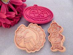 Cookie Cutters Fall Halloween Pumpkin Hallmark Thanksgiving Pilgrim and Turkey…