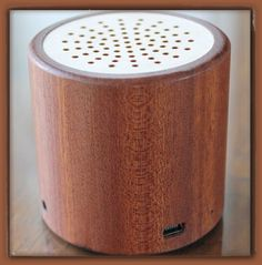 Natural Bamboo Wood Portable Wireless Bluetooth Mini Speaker for PC / Phone / Tablet / Apple iPod / iPad / iPhone / Andriod / MP3 Player (Mahogany) by TinyGadget. $29.99. This amazing mini bluetooth wireless speaker is hand crafted with 100% natural Bamboo wood. Bamboo is one of strongest wood material on earth.  It is environmental friendly and it's beautiful.  You can now enjoy music wirelessly from this beautiful speaker that connects to your mobile devices (iPhone/iPod/iPad/l...