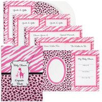 Superior Pink Safari Baby Shower Party Supplies   Party City