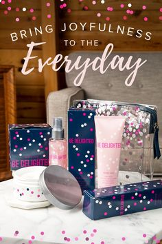 Looking for a gift that will dazzle your mom, sister or friend? Surprise and delight her with our Limited-Edition† Be Delighted™ Body Mousse and Body Wash Set, and Limited-Edition† Be Delighted™ Shimmer Mist! | Mary Kay