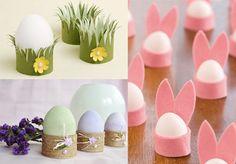 Пасхальные идеи: паковываем яйца, куличи, декорируем стол | Домовёнок-Арт