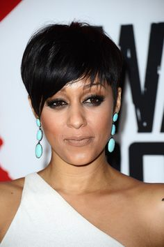 | Tia Mowry attended the premiere of 'Warm Bodies in Hollywood ...