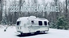 Quick Tour of the 2021 Airstream Caravel 22FB - YouTube Airstream Remodel, Airstream Interior, Airstream Trailers For Sale, Airstream Restoration, Freedom Life, Rv Travel, Rv Life, Digital Nomad, Recreational Vehicles