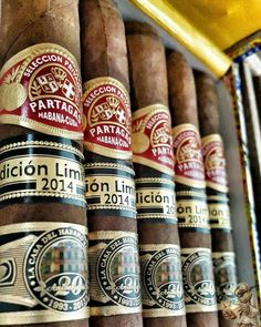 Partagas Seleccion Partagas limited production cigars from 2014.