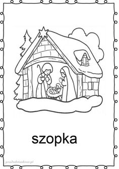 tradycje-kolorowanki4 Do A Dot, Advent, Preschool Christmas, Mothers Day Crafts, Winter Christmas, Handicraft, Decoupage, Snoopy, Dots