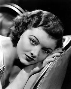 """Actress Myrna Loy - In she was crowned the """"Queen of Hollywood"""" by a nationwide poll. Old Hollywood Movies, Old Hollywood Glamour, Hollywood Fashion, Golden Age Of Hollywood, Vintage Hollywood, Hollywood Stars, Hollywood Actresses, Classic Hollywood, Actors & Actresses"""