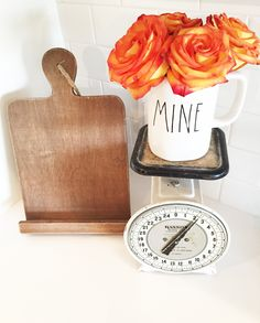 Vintage Scale and fa
