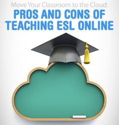 Move Your Classroom to the Cloud: Pros and Cons of Teaching ESL Online