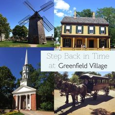 Step Back in Time at Greenfield Village - World Traveled Family Places To Travel, Places To Visit, Dearborn Michigan, Henry Ford Museum, Michigan Travel, Need A Vacation, Travel Companies, Back In Time, Vacation Destinations