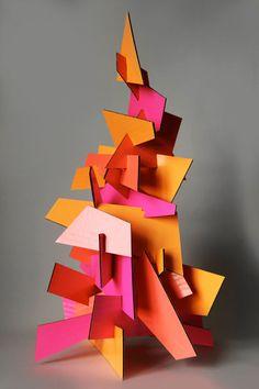 Best Wishes – Paper Art – sculpture Cardboard Sculpture, Cardboard Crafts, Cardboard Playhouse, Cardboard Furniture, Sculpture Projects, Sculpture Art, Sculpture Ideas, Water Sculpture, Atelier D Art