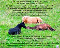 Psalms 23  Montana Horse Trailers