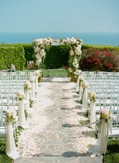 outdoor+wedding+ideas | Outdoor Wedding Ceremony Decoration Ideas « with Love in the Wedding ...