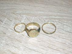 Altgold Goldschrott 10g 333er Gold 3 Ringe Schmelzgold ab 1 Euro