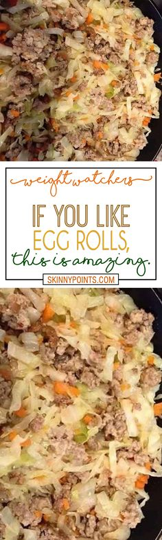 Amazing Egg Rolls Recipe #weightwatchers #weight_watchers #egg #rolls