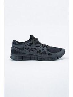 Nike Free Run 2 Trainers in Black