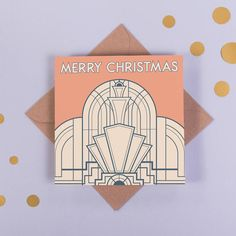 art deco christmas gift tags - Google Search