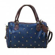 Wholesale Fashion Blue Crocodilian Veins Zipper PU Bag For Women (BLUE), Shoulder Bags - Rosewholesale.com