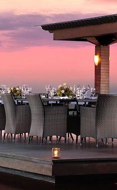 Sunset Dinner, Indonesia