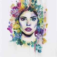 Katy Jade Dobson is a UK based oil painter from Yorkshire. Katy Jade Dobson uses a number of mediums to paint her amazing pieces. Dimitra Milan, Oil Painters, Portrait Art, Portraits, Wildlife Art, Watercolor And Ink, Art Tutorials, Jade, Halloween Face Makeup