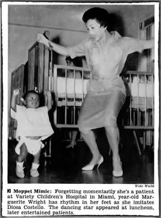 Year Old Marguerite Wright Has Rhythm In Her Feet - Jet Magazine, January 29, 1959: History, Black Magazine Newspaper, Vintage Photos, African, January, Magazine Newspaper Articles, Jet, Dance