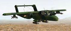 El North American Rockwell OV-10 Bronco, es un avión de observación y ataque,rápido con largo alcance y gran capacidad de vuelo.