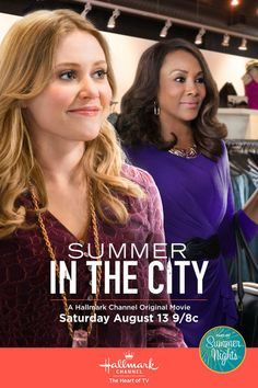 "'Summer in the City' - a Hallmark Channel Original ""Summer Nights"" Movie…"