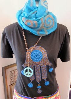 Hand of Fatima t-shirt, available at O'de Rose in Dubai