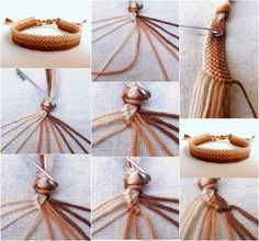 DIY-Easy-Weave-Bracelet on We Heart It