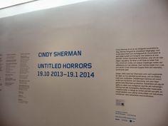 Multimediataiteilija Jemina Staalon portfolio: Cindy Sherman @ Moderna Museet 15.01.2014: Untitled horrors