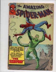 Amazing Spider-Man # 20 , January 1965 , Marvel Comics Vol 1 1963 Marvel Comics, Marvel Comic Books, Marvel Heroes, Comic Books Art, Book Art, Hulk Comic, Marvel Art, Amazing Spiderman, Amazing Spider Man Comic