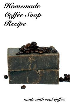 This natural homemade coffee soap recipe is made using real brewed coffee and the cold process soapmaking method and is easy enough for beginners. The caffeine in this homemade coffee soap recipe acts as a natural anti-inflammatory and is believed to help with skin redness and other skin aliments.