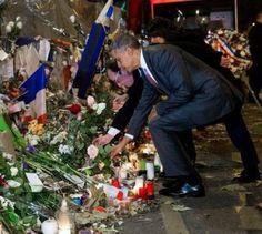 Hollande et Obama à Bataclan
