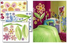 Little flower walls mural   Flower Power Wall Murals