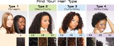 Curls on Fleek Natural Hair Types, Curly Hair Types, Natural Hair Care Tips, Natural Styles, Natural Curls, 4a Hair Type, Hair Type Chart, Sew In Hair Extensions, Hair Porosity
